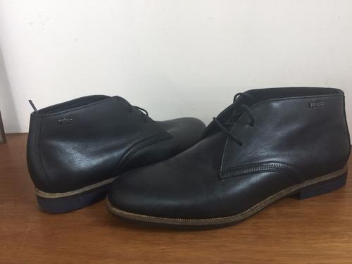 zapato media botita ringo vince 01 cuero negro