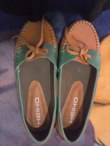 zapato mocasin chatas