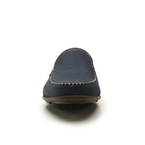 zapato mocasin flexi caballero 68610 azul