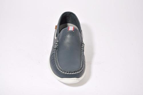 zapato mocasin hombre cuero ringo art: conan importado