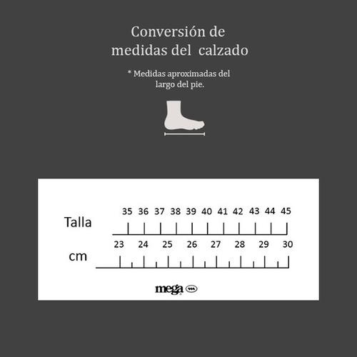 zapato mocasín mega para dama 1681 negro