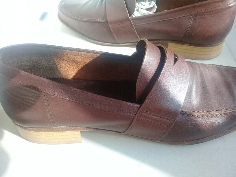 zapato mocasin mocasines hombre zara marrón suela de cuero. Cargando zoom. 4f327bcb931