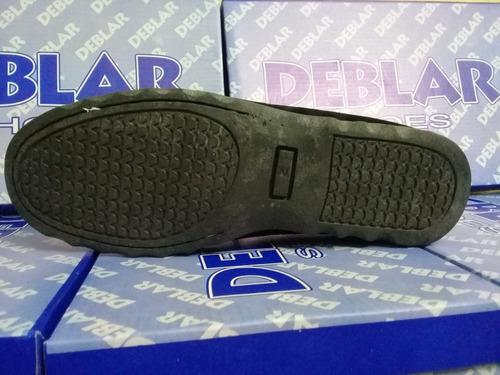 zapato mocasin nautico gamuzado 34 a 45 (envio gratis*)