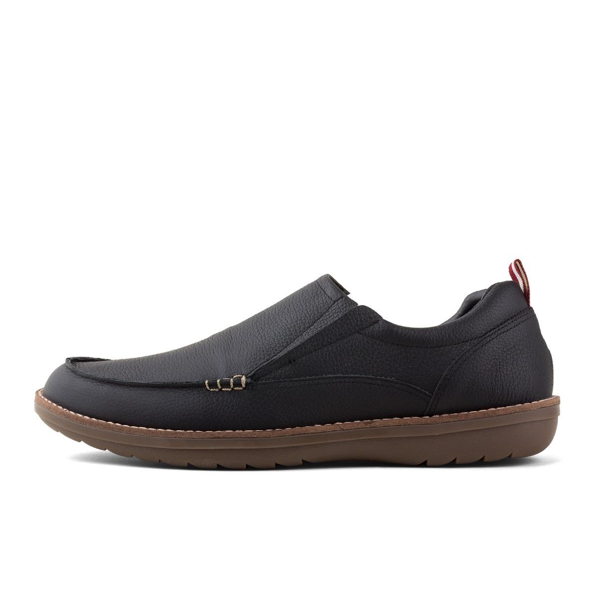 f8c938dc zapato mocasín negro atlantic cuero boating casual hombre. Cargando zoom.