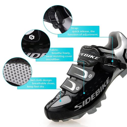 zapato montaña ciclismo tenis spd kukome flexible unisex