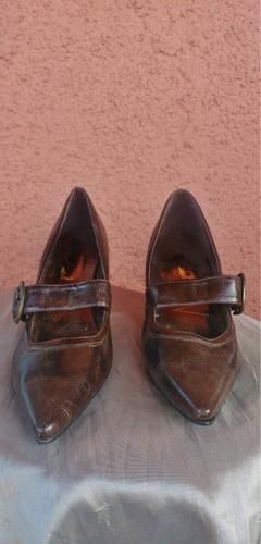 zapato moro café 37 (no gacel, pollini