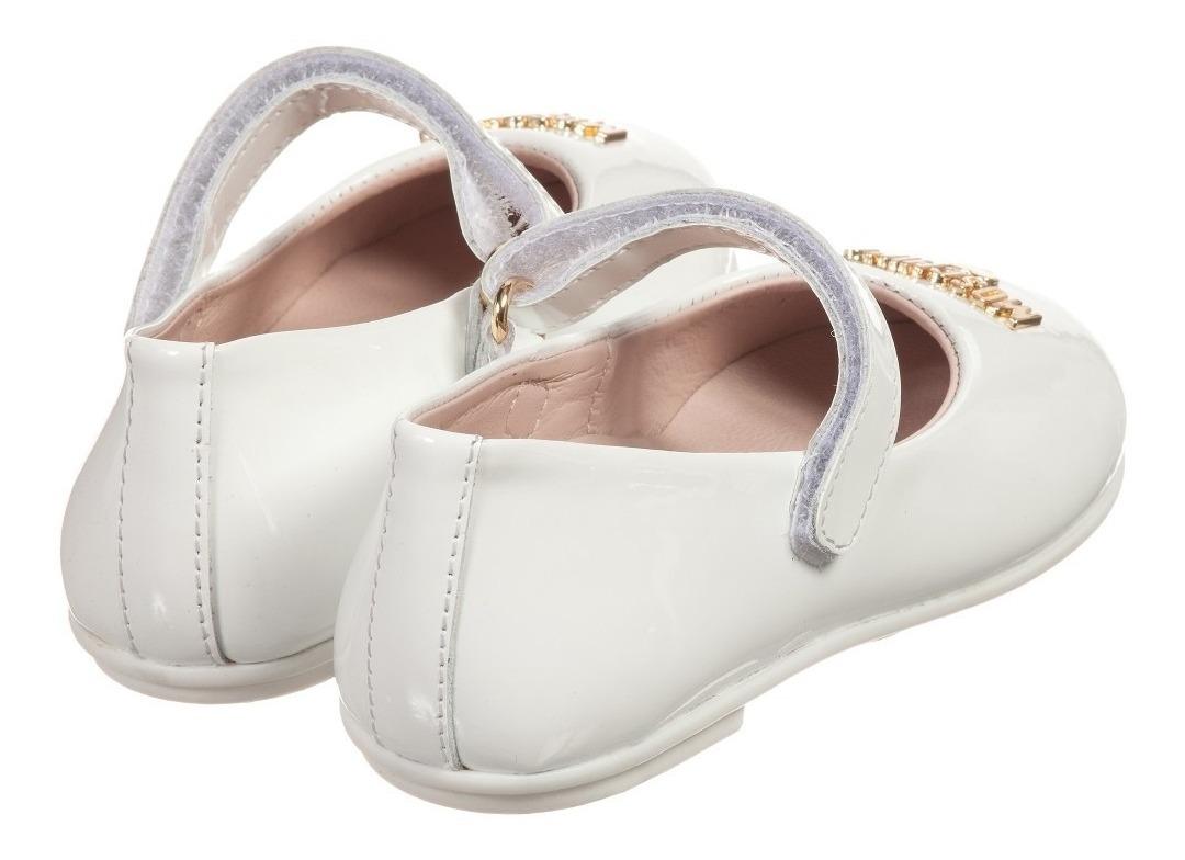 the best attitude 9cd12 4f7f5 Zapato Moschino Ballerina Blanco Para Niña *la Segunda Bazar - $ 1,999.00