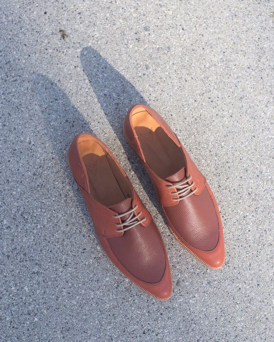 Color Coleccionzero 700 Acordonado Mujer Marron Cuero 3 Zapato CqOB8w