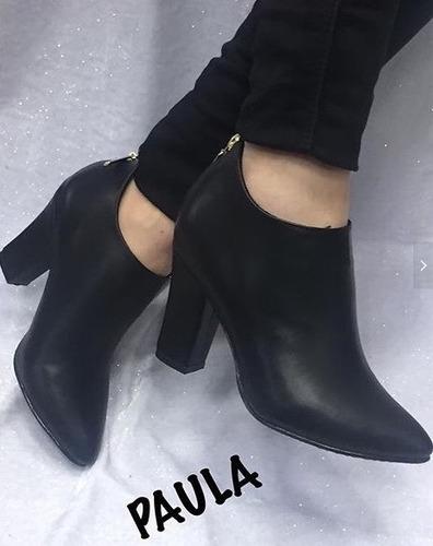 zapato mujer botin