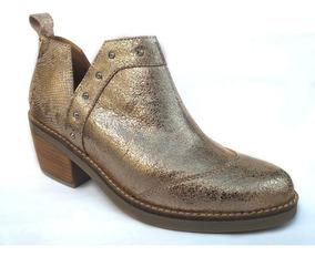 232343c1fd56 Zapato Mujer Botinetas 100% Cuero Vacuno Horma Muy Cómoda