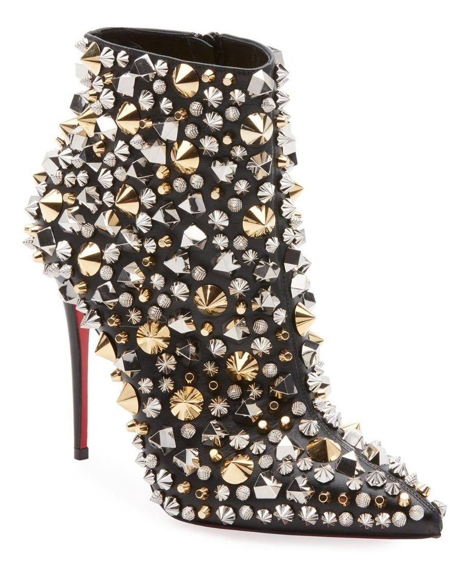 c6f02f3cb59 zapato mujer christian louboutin so full kate studded black. Cargando zoom.