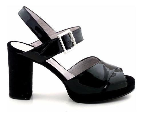 zapato mujer cuero sandalia vestir briganti - mcsd04547 cg