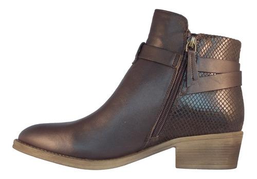 zapato mujer fagus 100% cuero color dark brown 4fb1818
