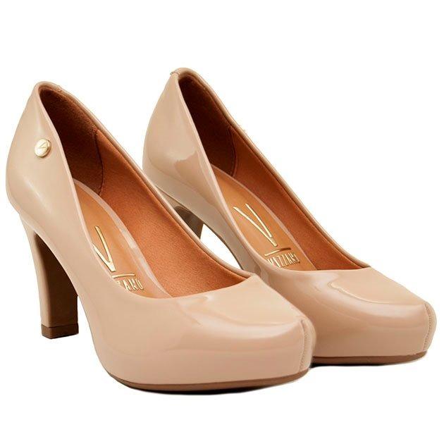 el precio más bajo sitio autorizado mejor venta Zapato Mujer Plataforma Interna Charol Beige Vizzano