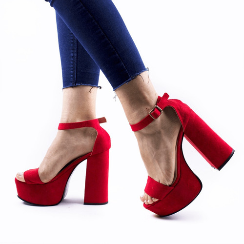 zapato mujer plataforma nuevos fiesta taco alto moda 2018