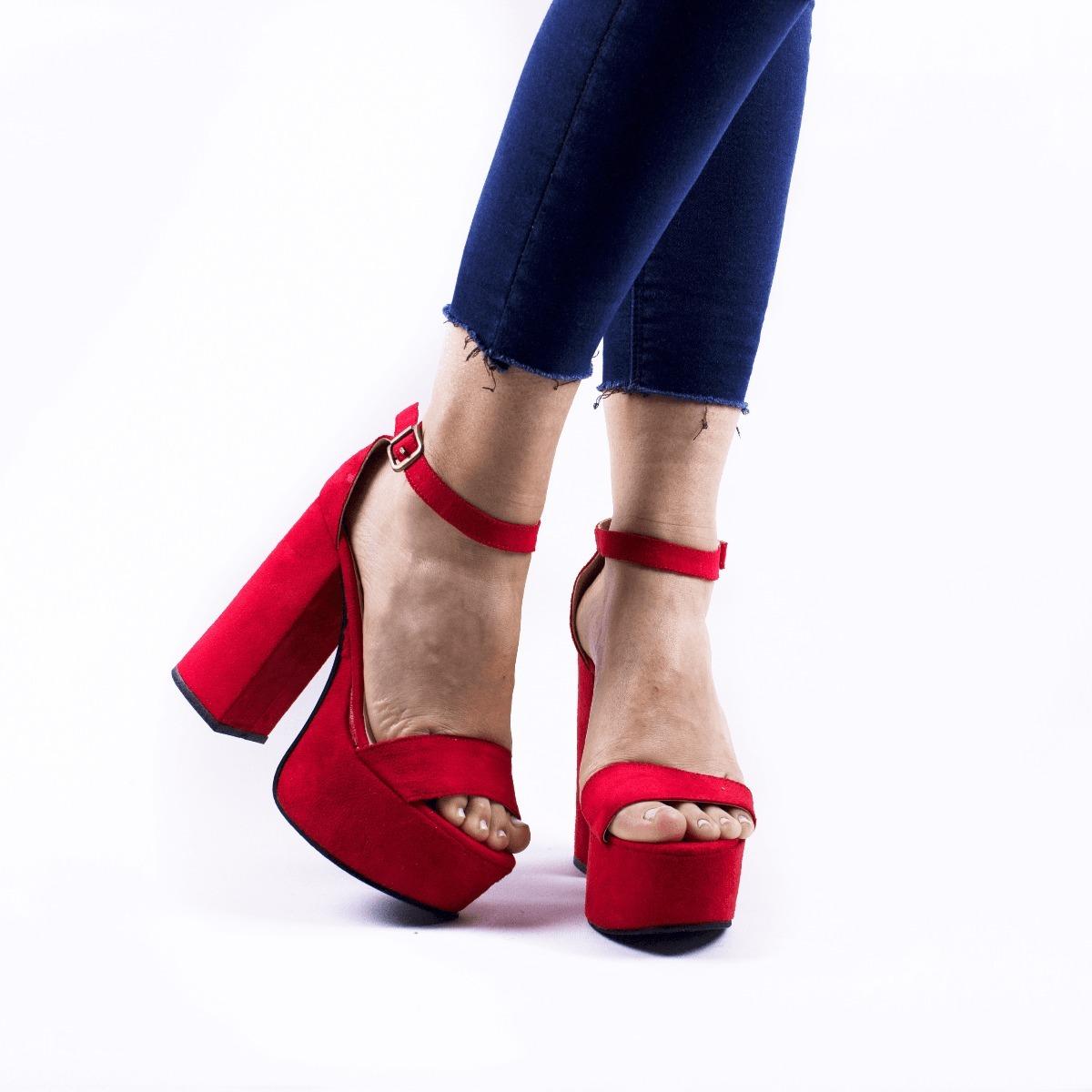 zapato mujer plataforma nuevos fiesta taco alto moda 2018. Cargando zoom. 9ed3dabf2b434
