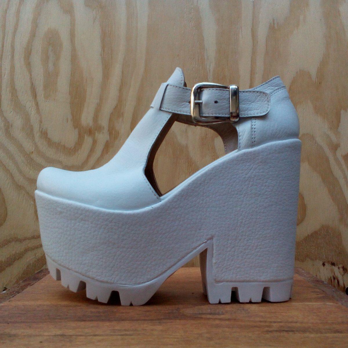 990 Cuero Mujer Guillermina Paradisea Zapato Plataforma Sandalia dIwqWYf 98b0cb9e341a