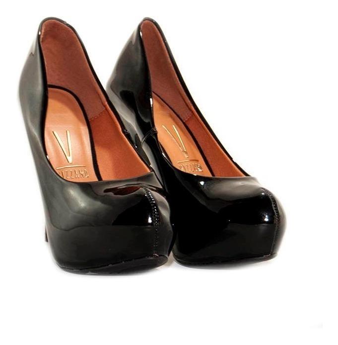 0d7eac85 Zapato Mujer Taco Alto Plataforma Charol Negro - $ 1.890,00 en ...