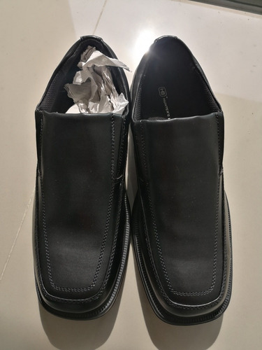 zapato negro clasico hombre