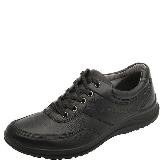 2ad07baa7af01 Zapato Negro De Piel No 8 Flexi Hombre Acabado Liso -   400.00 en ...