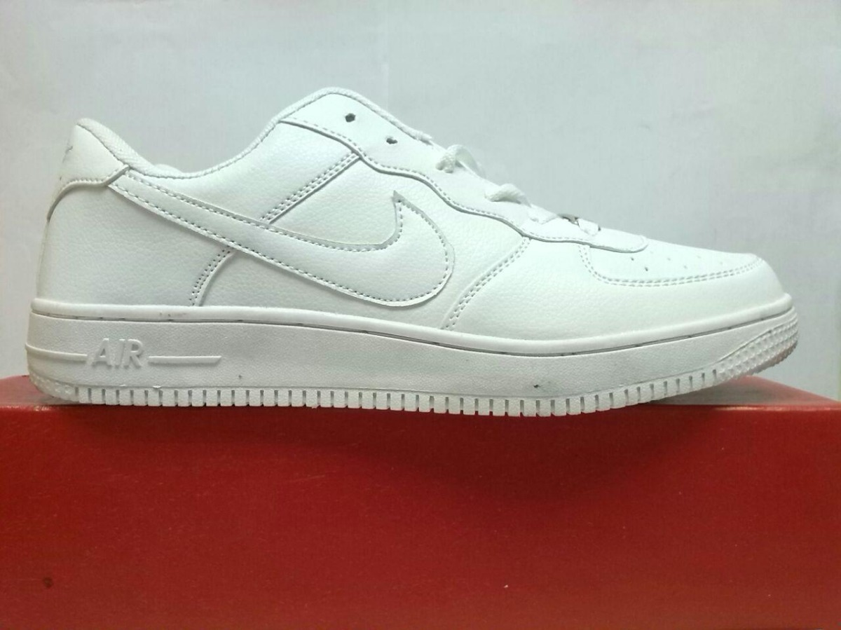 Zapato Nike Air Force One Blancos Talla 37  00 en Mercado