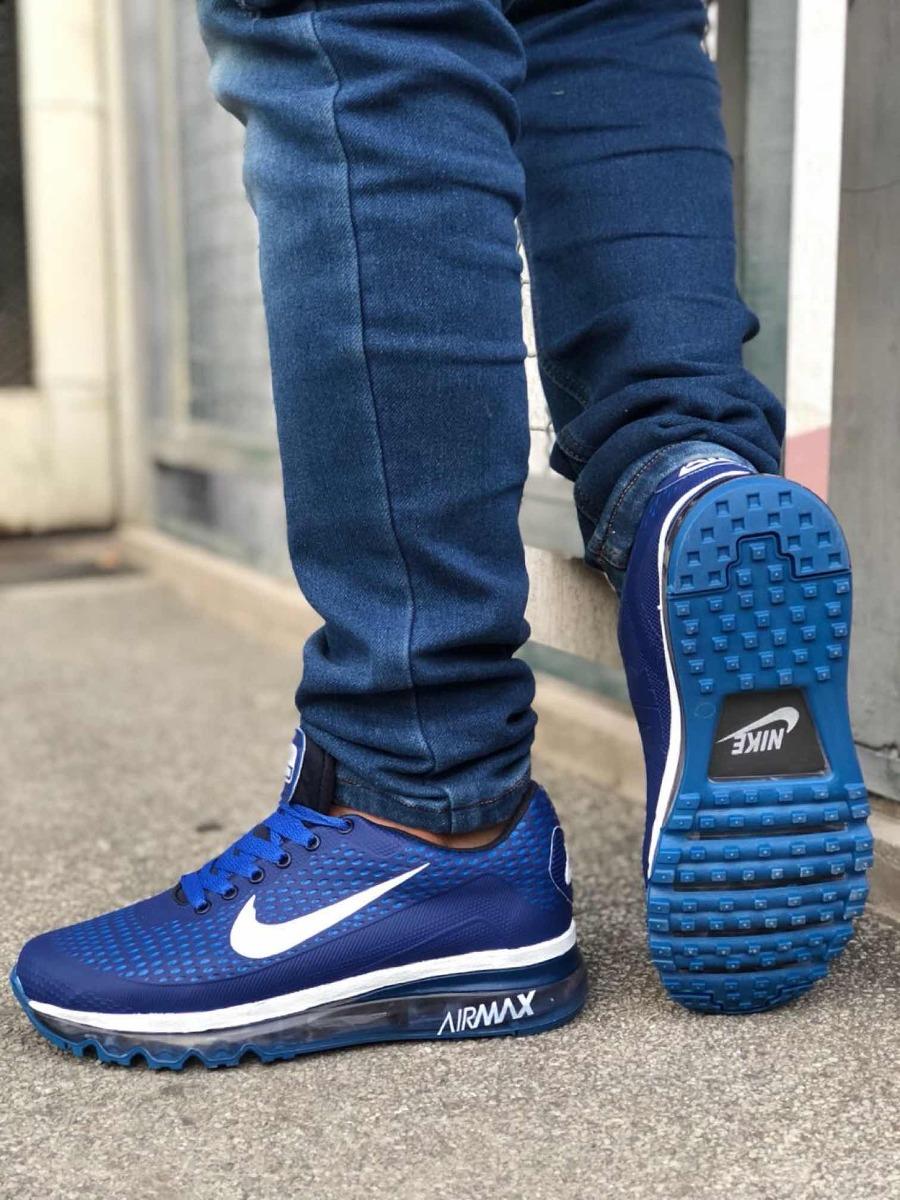 new york 04a02 ee89b ... closeout zapato nike air máx azul rojo verde blanco hombre. cargando  zoom. cef6d 5852b