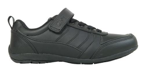 zapato niña escolar cuero negro 71860112-i18