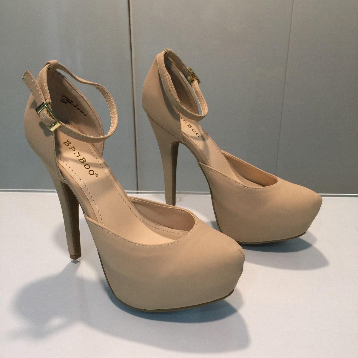 05b1e9a0 zapato nude beige de tacón para damas importadas hellas. Cargando zoom.
