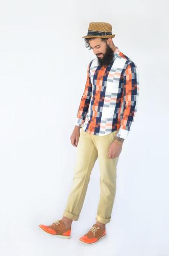 zapato oxford de hombre marca importadas elaborado en cuero