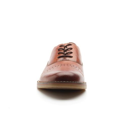 zapato oxford flexi caballero 92405 tan