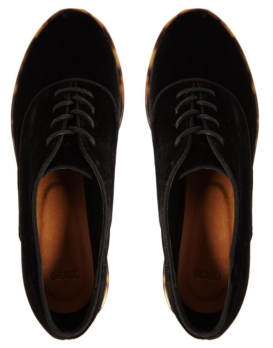 36 Y Negro Mujer En 990 Terciopelo 38 Zapato Tortoise Oxford 34 wqgOxHApXT