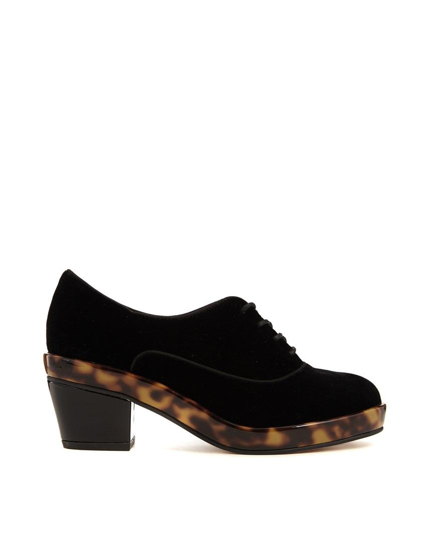 38 Oxford 990 Tortoise Negro Zapato Y 34 Mujer Terciopelo En 36 AqZ00p
