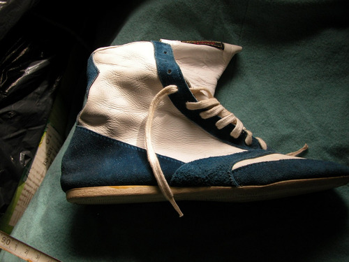 zapato para bowling o boxing  - cuero -