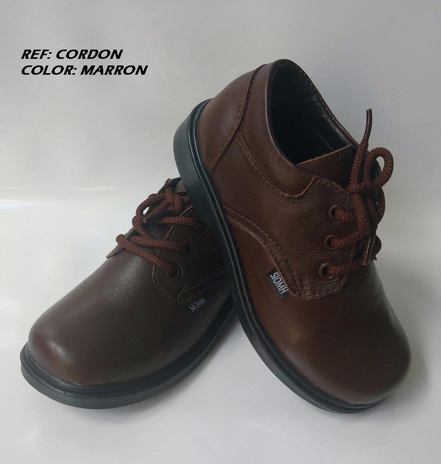 74603aba454 zapato para colegio cuero marrón para niños grandes hombre. Cargando zoom.