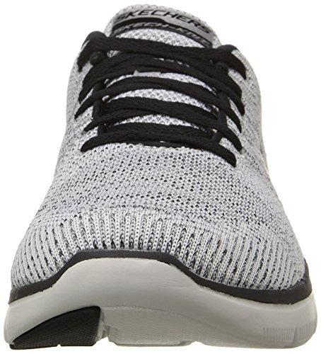 Zapato Para Hombre Skechers Sport Flex, Blanco, 39col 8us