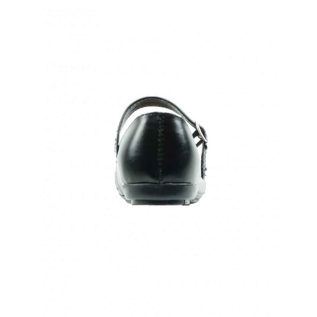 71f16b4a zapato para la escuela de niña piel negro marca anel de baez. Cargando zoom.