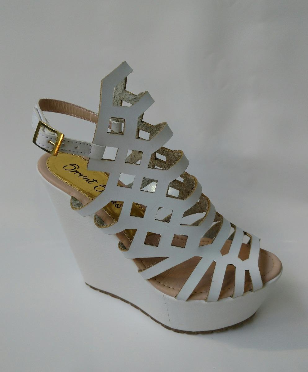 9d1521e1 zapato para mujer en plataforma blanco calzado envio gratis. Cargando zoom.