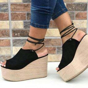 97fad28222 Zapato Terciopelo Con Plataforma Moda - Zapatos para Mujer en Mercado Libre  Colombia