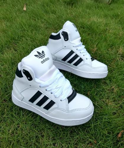 zapato para niño corte alto deportivo colombiano