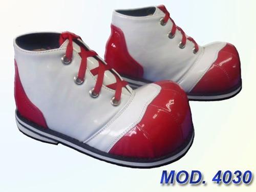 zapato payaso profesional unitalla para niño y niña