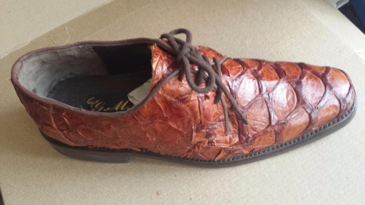zapato piel piraruco (pescado) original. Cargando zoom. 316fcead9d3d
