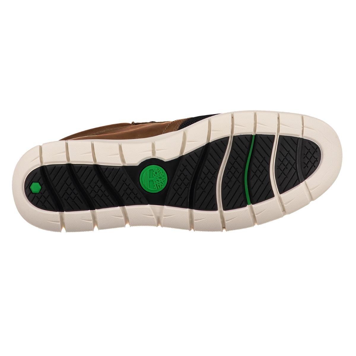 Zapato Piel Timberland A1ofy Hombre Café