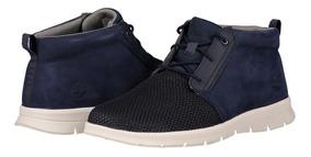 Zapato Piel Timberland A1p2a Hombre Azul