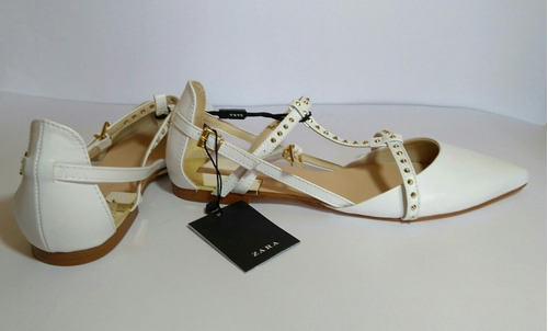 Zapato Plano Zara 00 Nuevos600 Libre Marca Mercado En LGqMVSUjzp