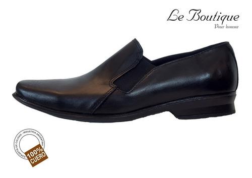 zapato pta cuadrada base goma foot notes 128 negro hot sale