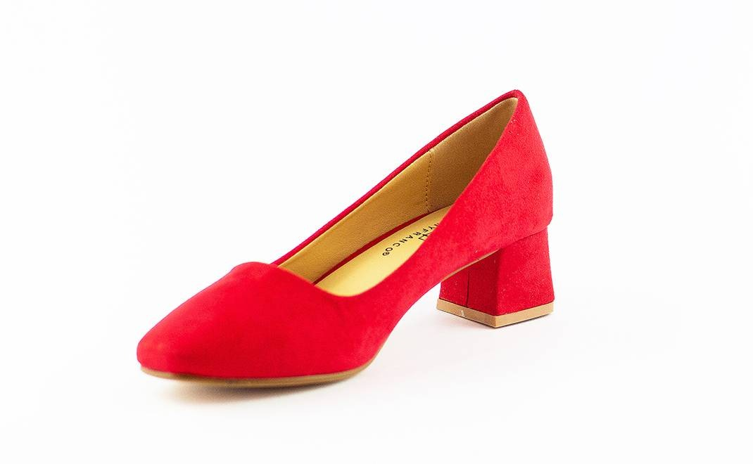 Cargando mujer zapato reina taco zoom bajo rojo XqFH4wxFa
