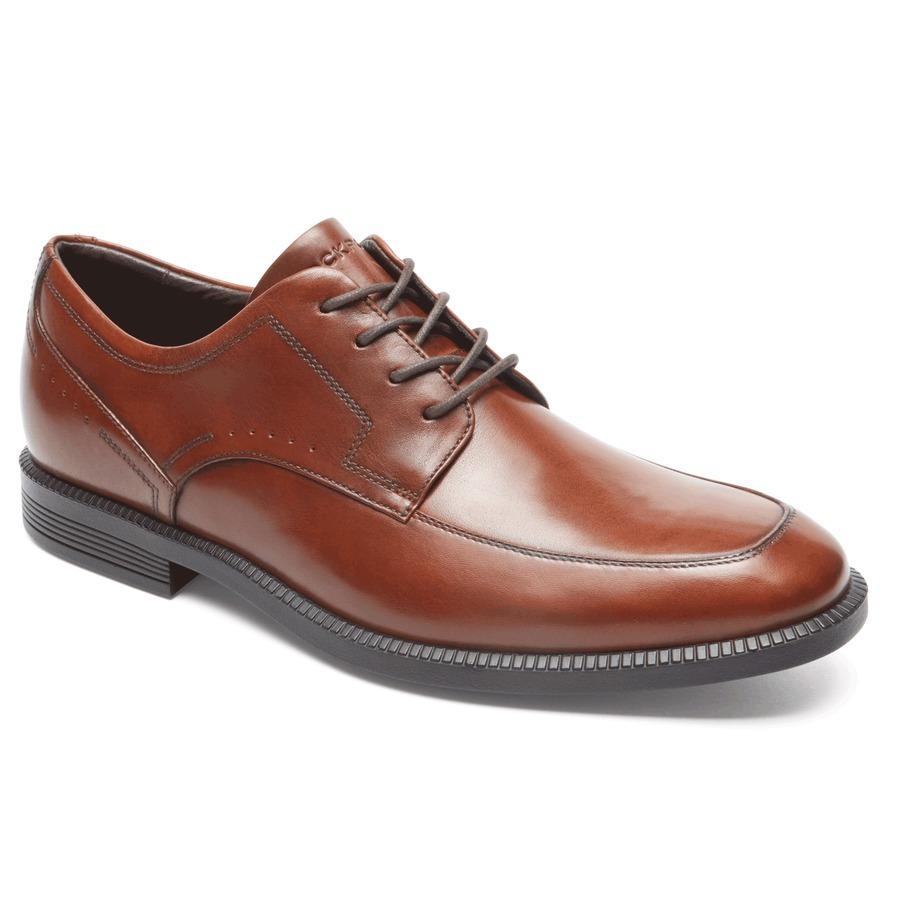 Zapatos marrones Rockport para hombre aCu67ZI