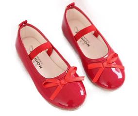 581967b4 Zapatos Rojos Cuero Niña en Mercado Libre Chile
