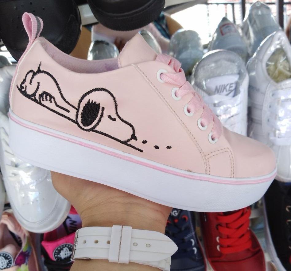 837257b368e mujer de para zoom motivo snoopy Cargando gratis zapato moda rosado envío  E7qaXX