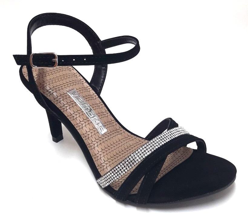 d54a20d9 Zapato Sandalia Con Strass Mujer Via Marte - $ 1.495,00 en Mercado Libre